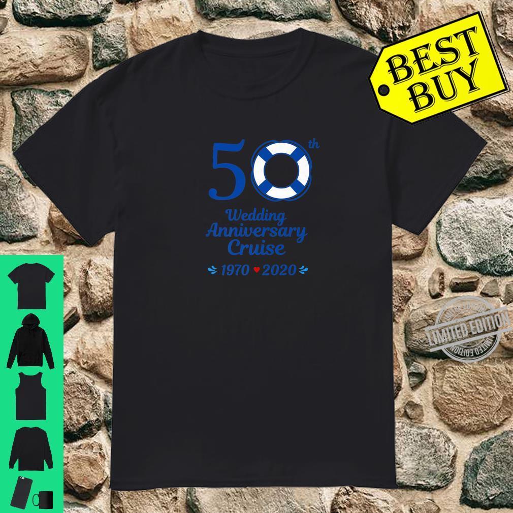 50th Wedding Anniversary Cruise 2020 Shirt