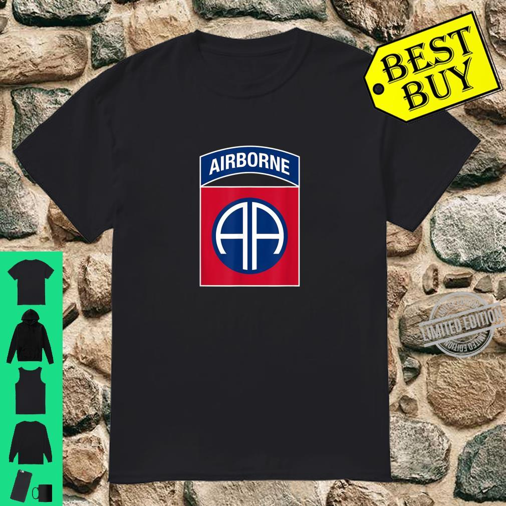 82nd Airborne Division Insignia Military Veteran Infantry Shirt