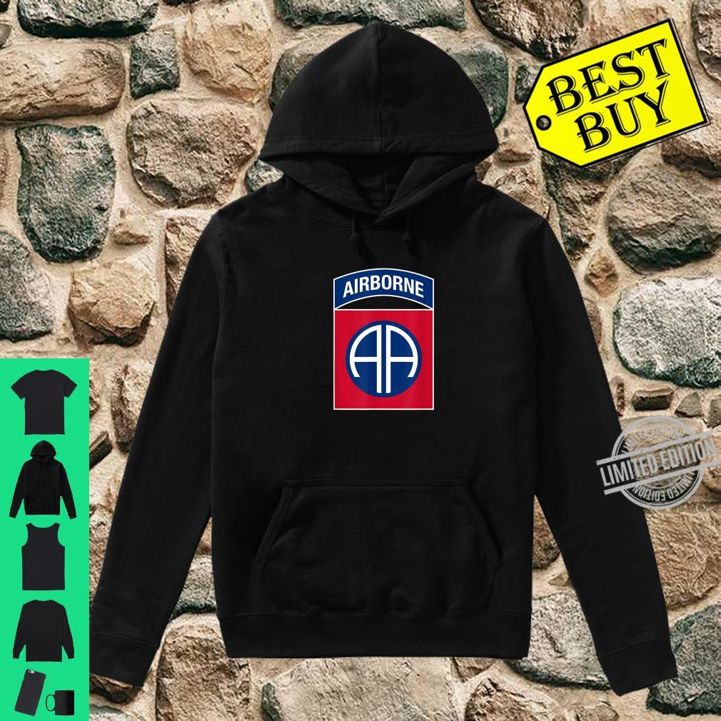 82nd Airborne Division Insignia Military Veteran Infantry Shirt hoodie