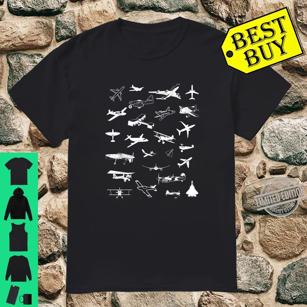 Airplane Aviation Aircraft Aeroplane Shirt