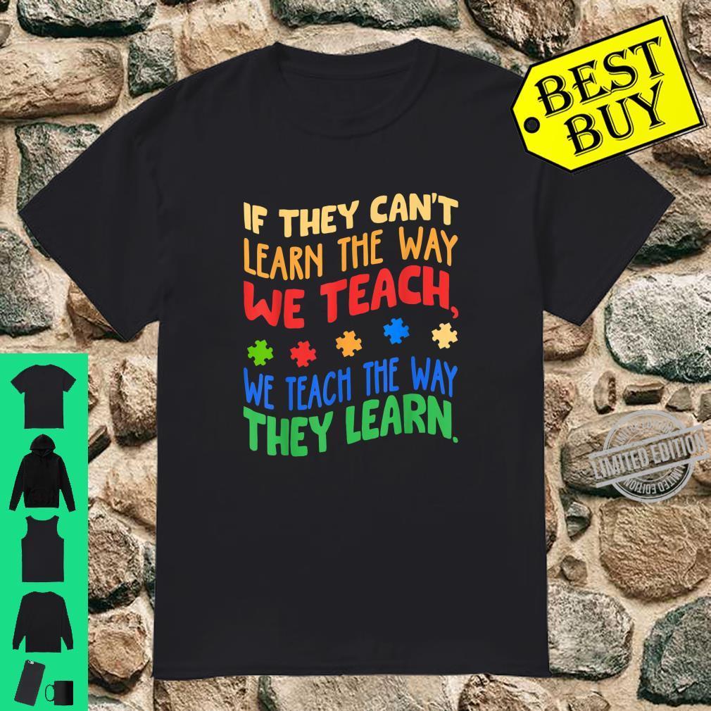 Autism Awareness Month Special ED Teacher Shirt