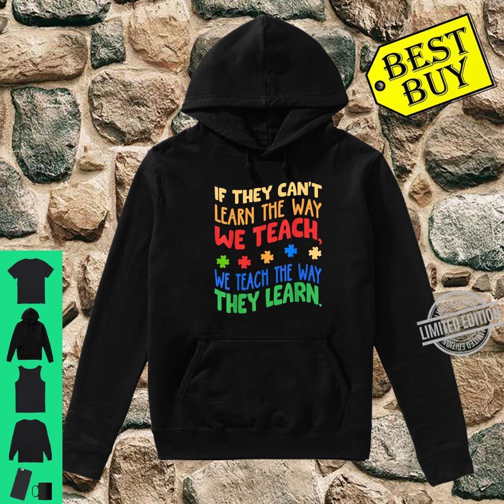 Autism Awareness Month Special ED Teacher Shirt hoodie