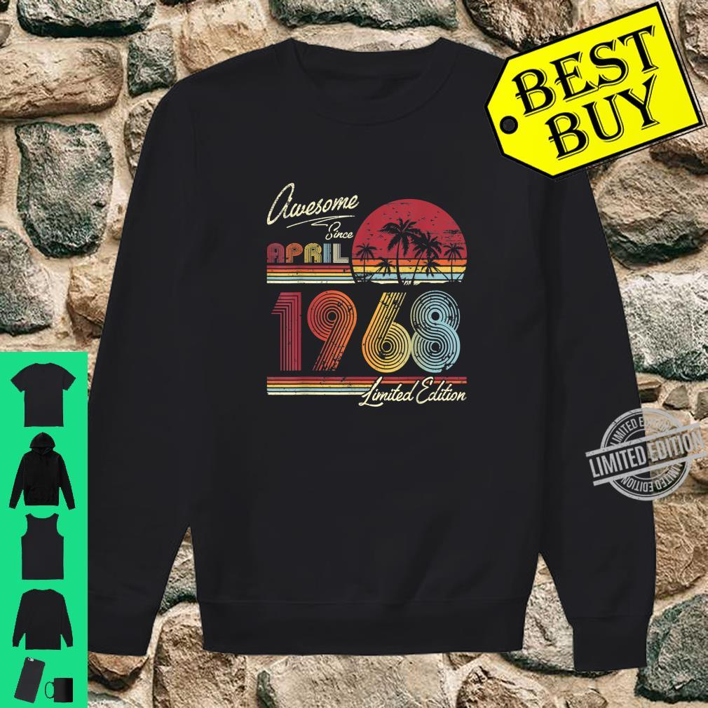 Awesome Since April 1968 52nd Birthday 52 Years Old Shirt sweater