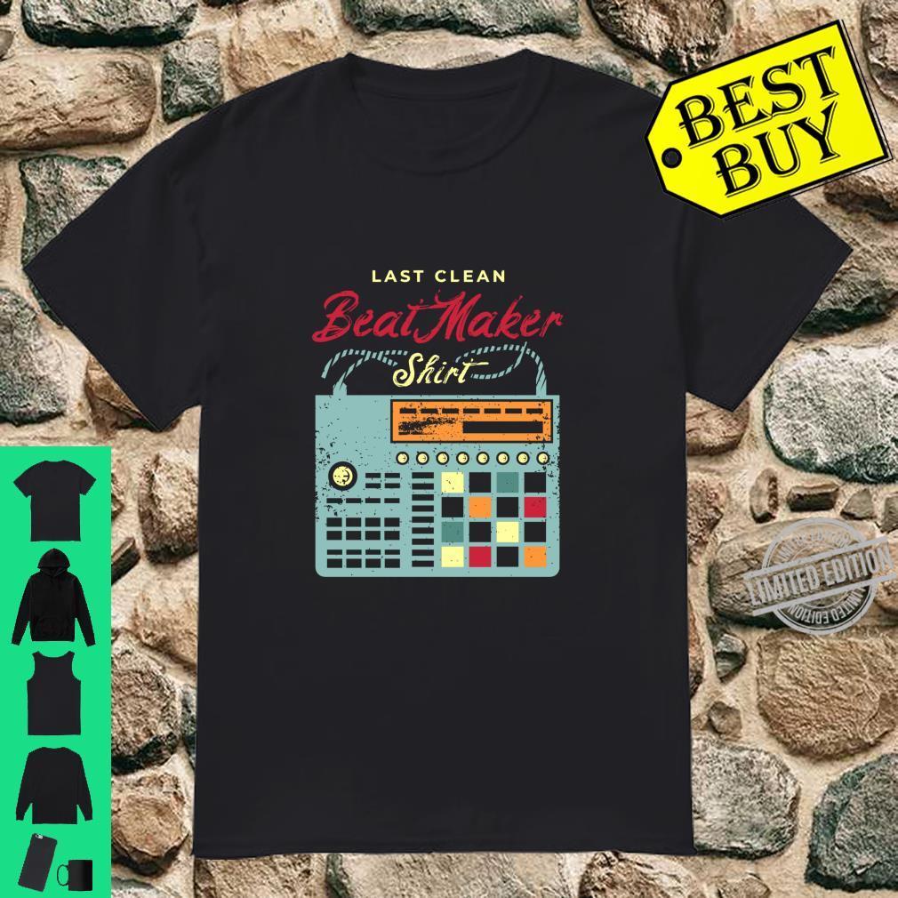Beatmaker Costume for a Drum Machine Shirt