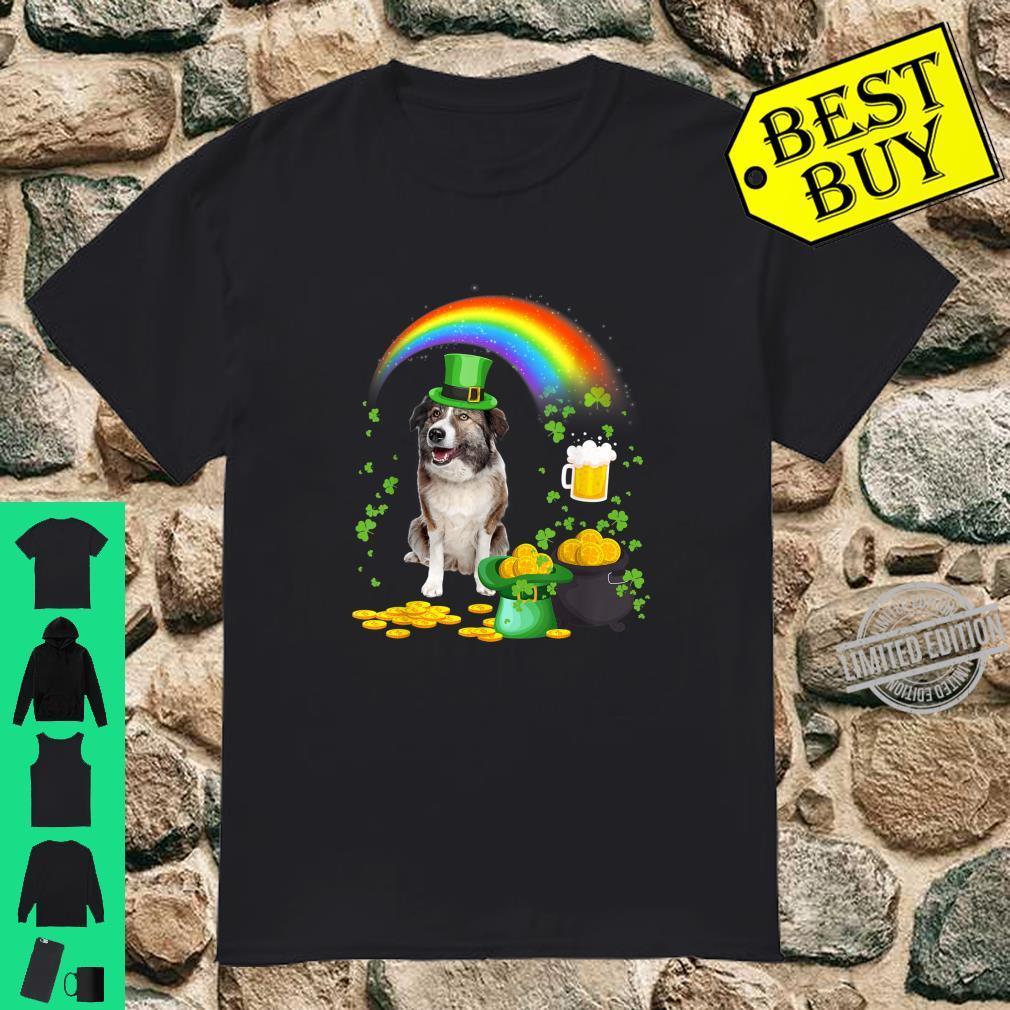 Beer Drinking Aidi Dog St Patricks Day Shirt