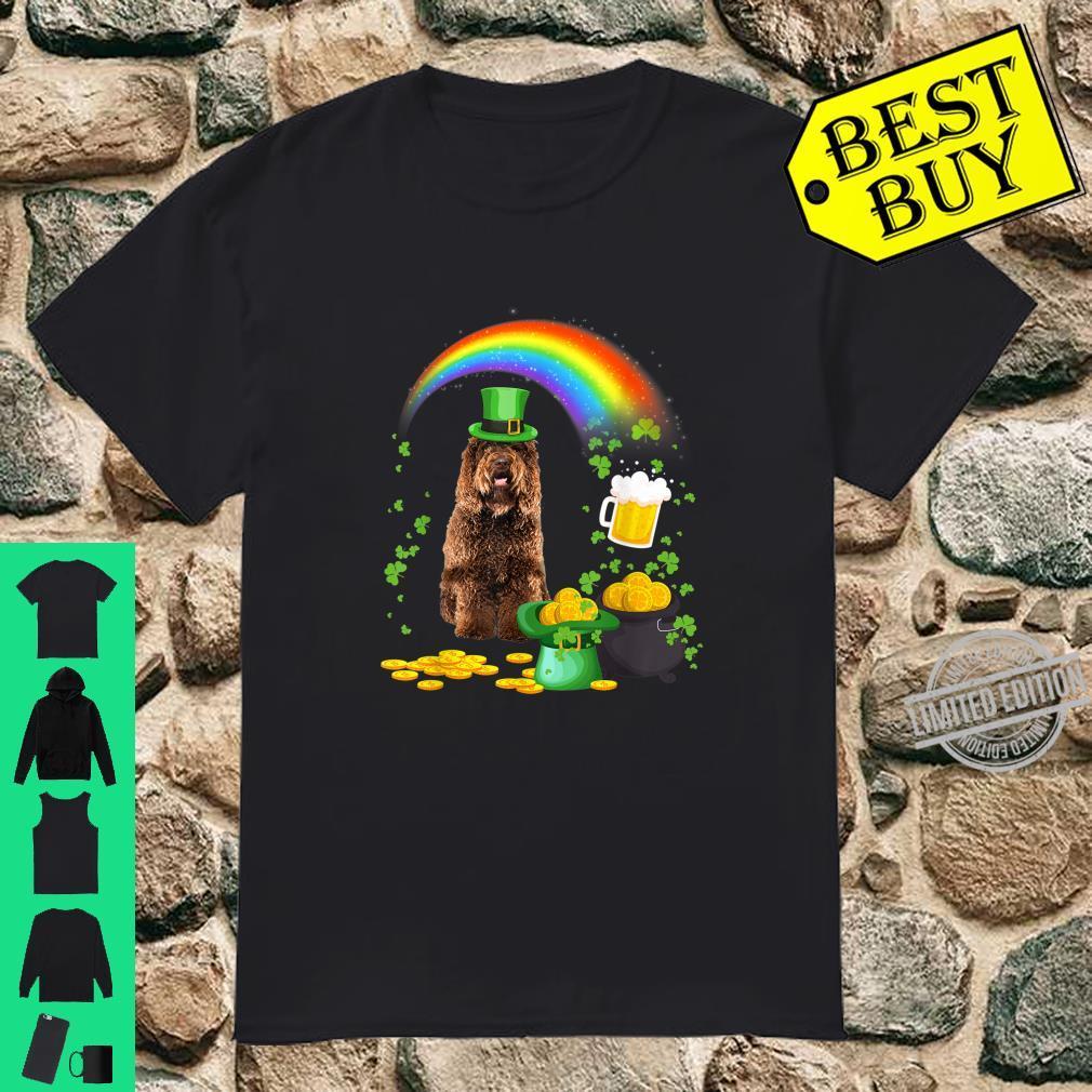 Beer Drinking Barbet Dog St Patricks Day Shirt