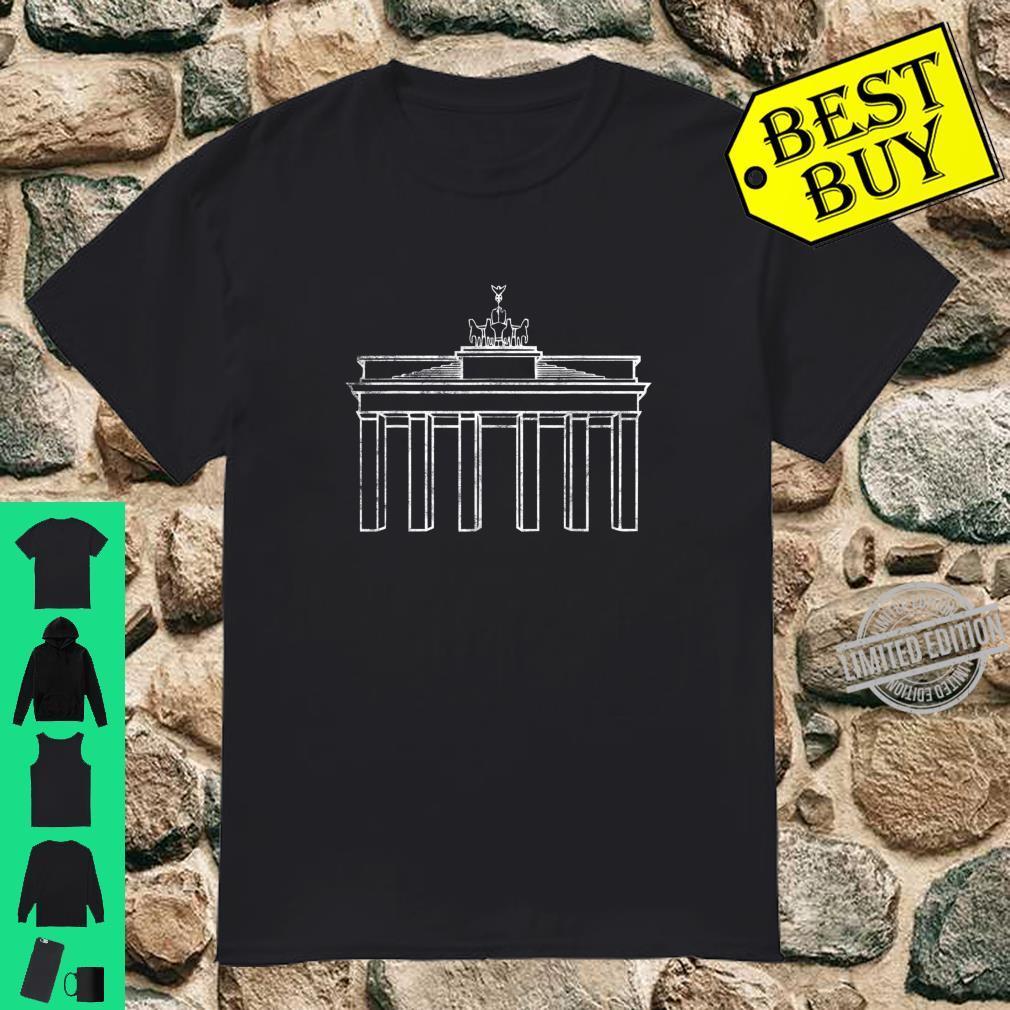 Berlin Germany Brandenburg Gate Monument Shirt