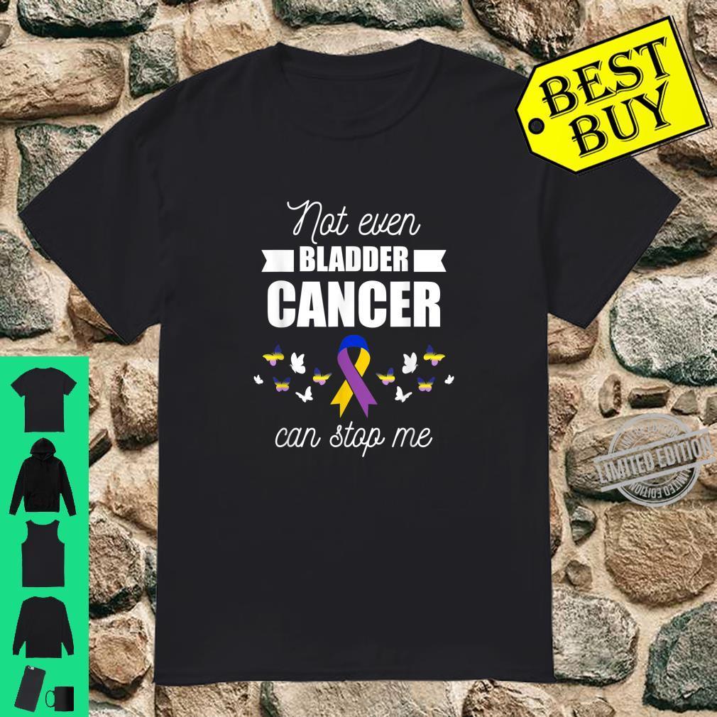 Bladder Cancer Survivor Stop Warrior Fight Shirt