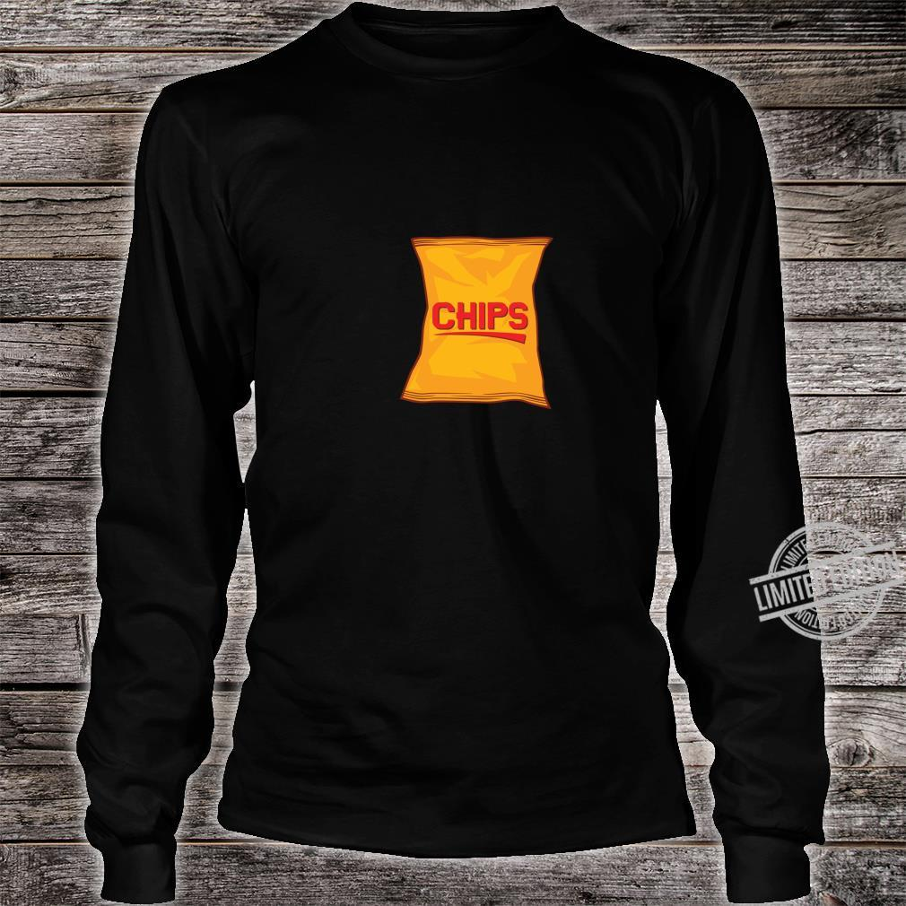 Chips Lustig Cinco De Mayo Mexikanisch Essen Urlaub Shirt long sleeved