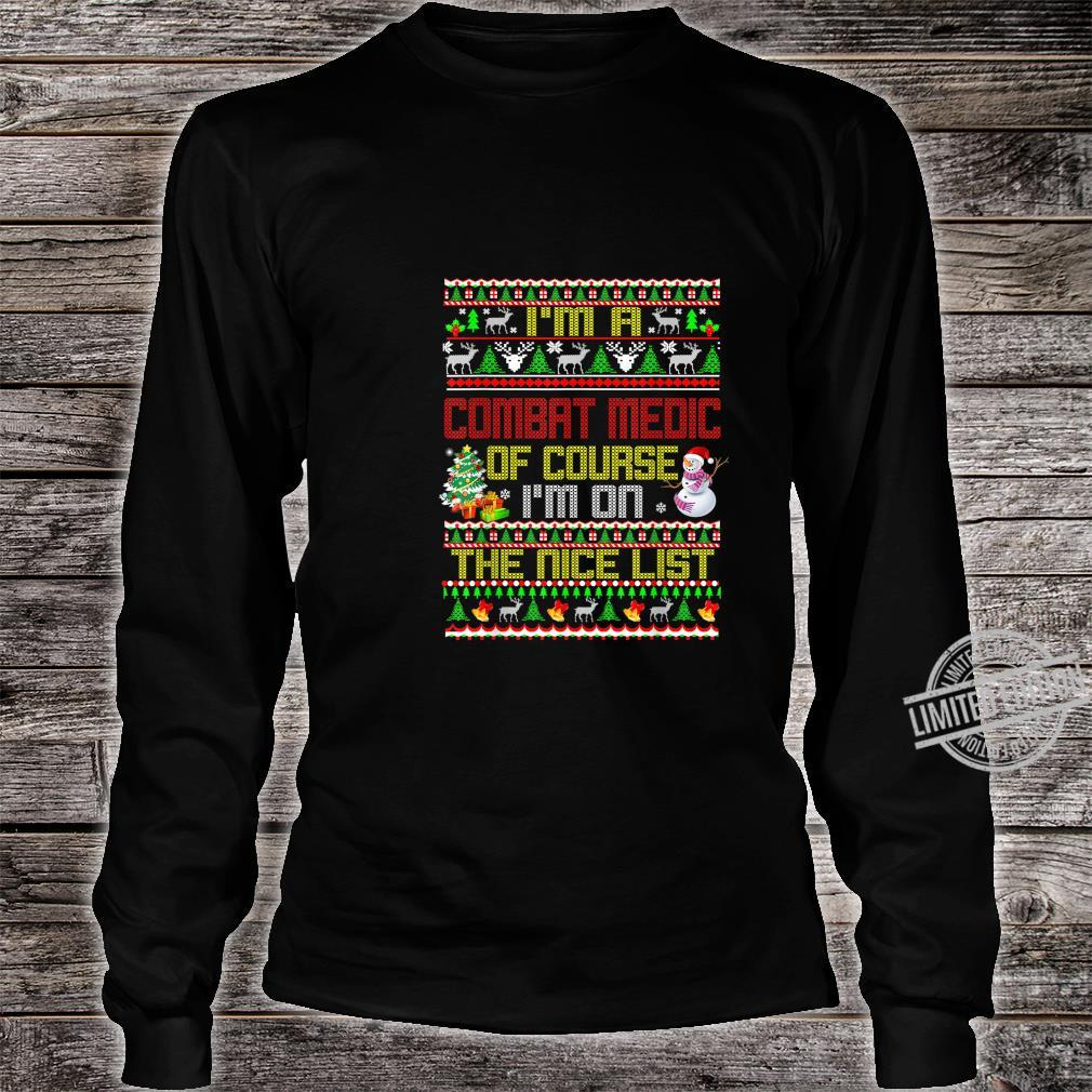 Zoko Apparel Im Training to Be A Care Fighter Ugly Christmas T-Shirt