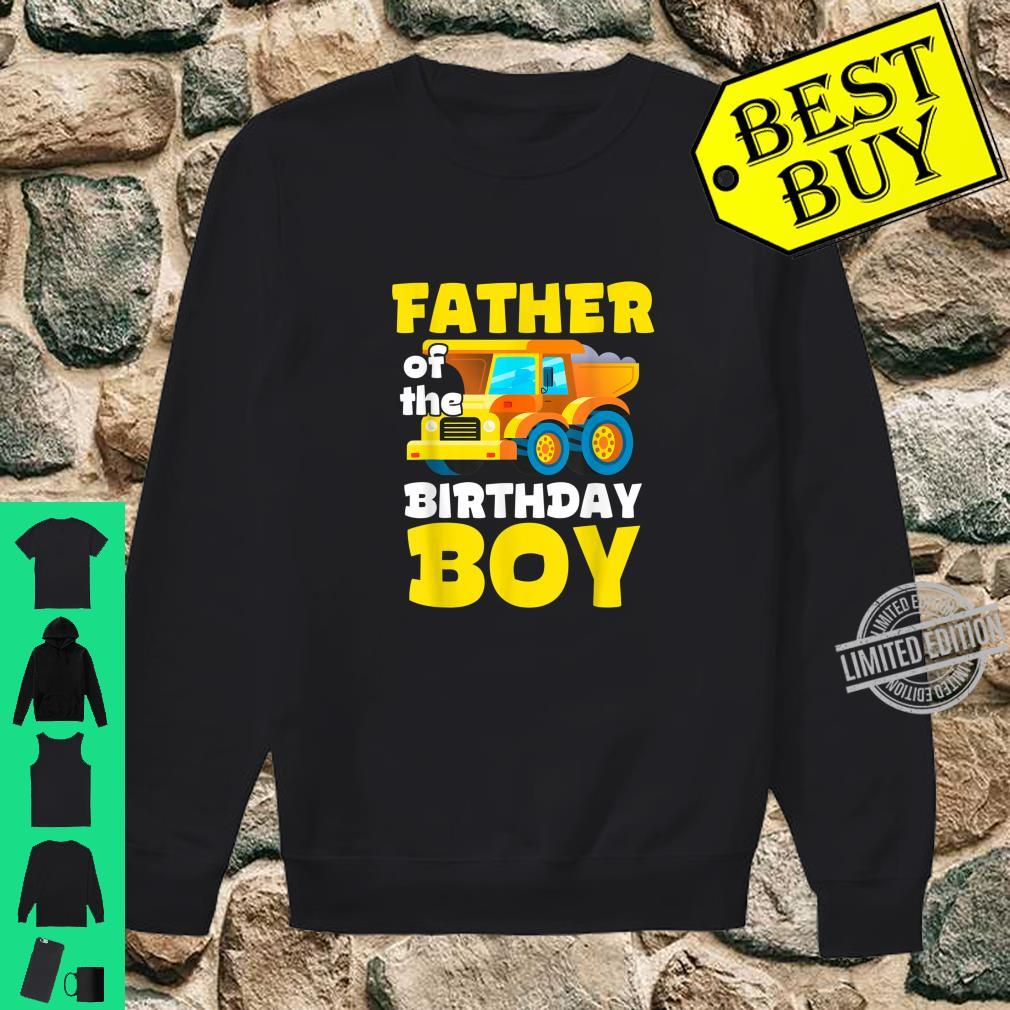 Construction Worker Squad Father of the Birthday Boy Shirt sweater