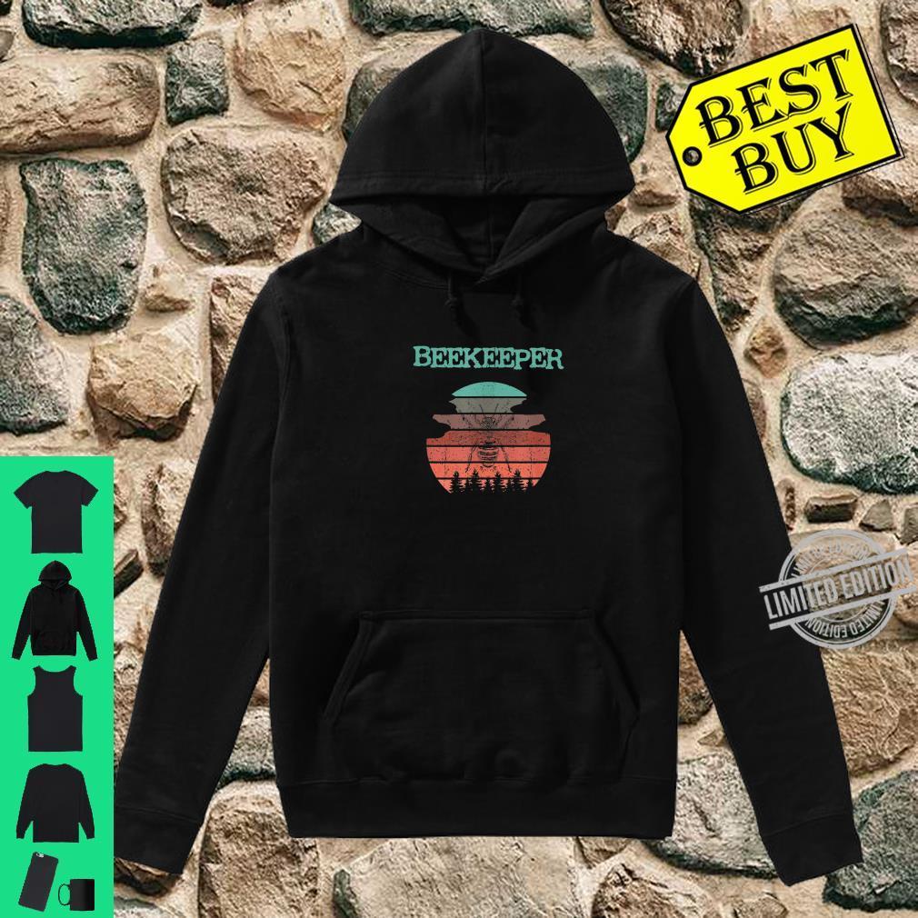 Cooles Biene Imker Bienen retro Natur Design Shirt hoodie