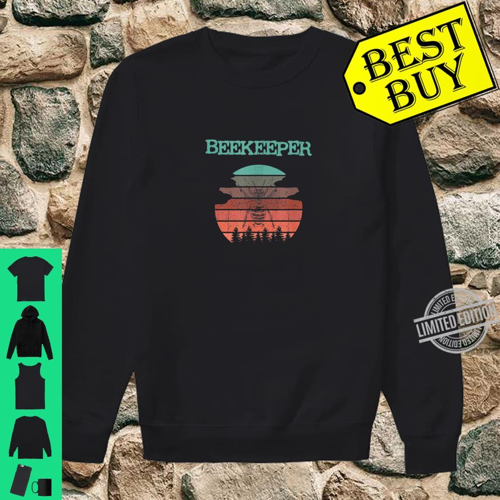 Cooles Biene Imker Bienen retro Natur Design Shirt sweater