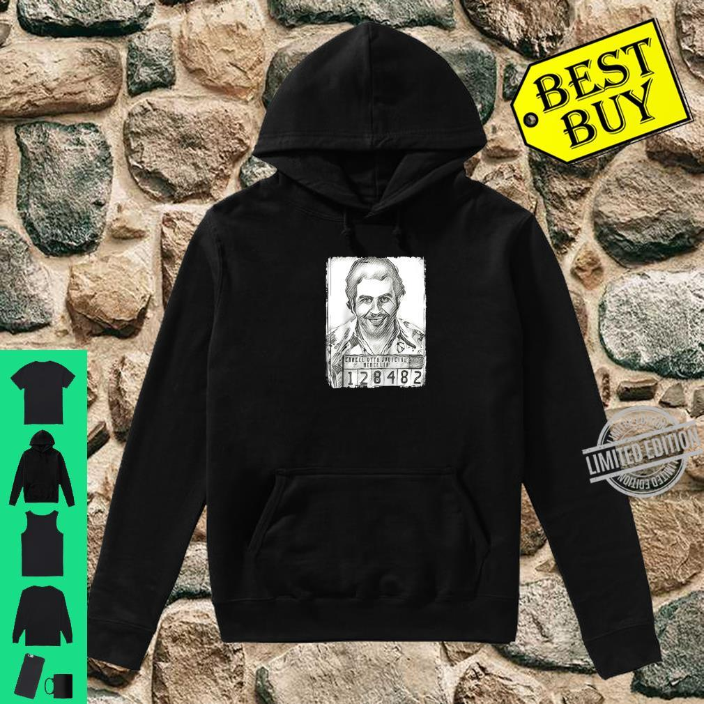 Cute Pablo the Cocaine King of the Medellin Colombia Crime Narco Shirt hoodie
