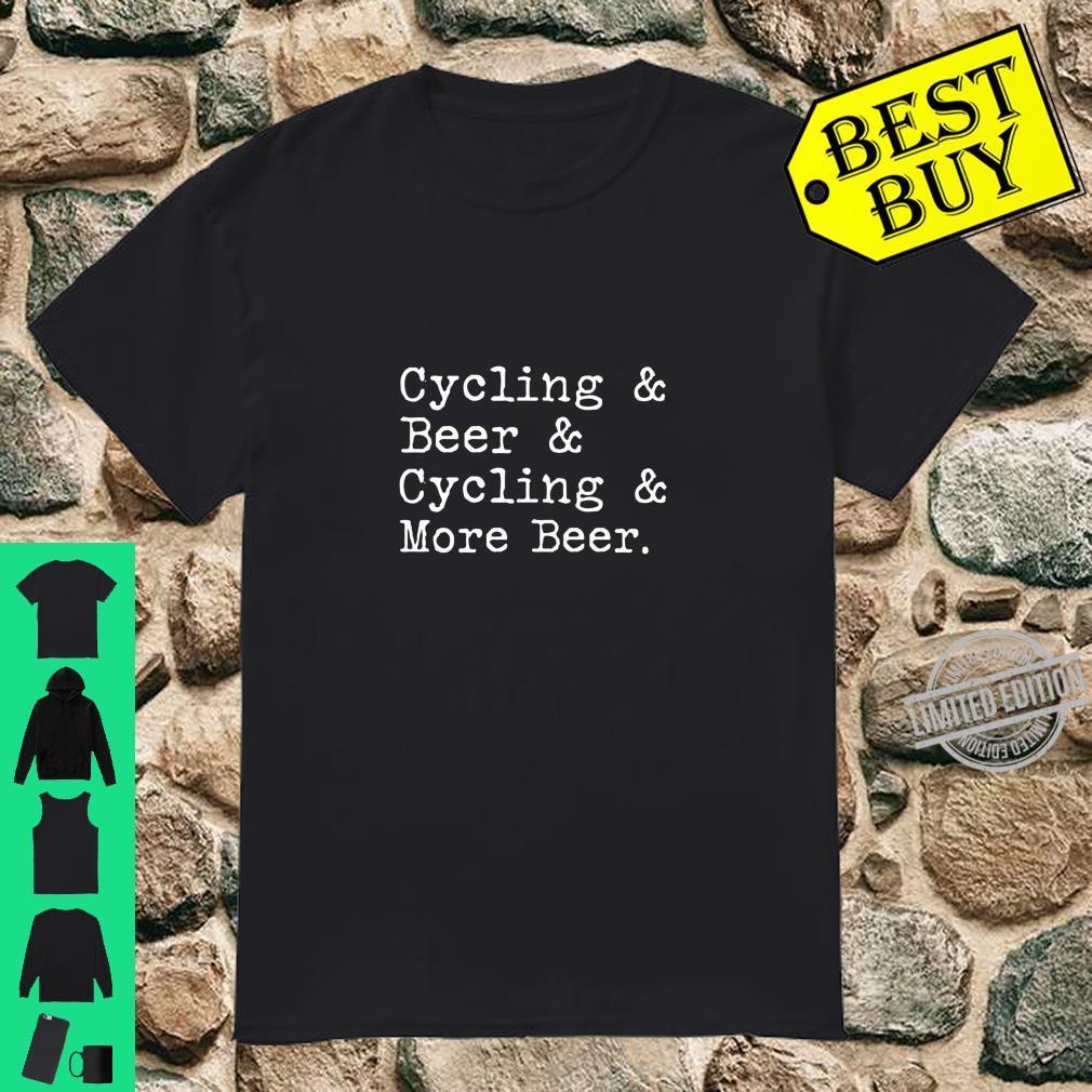 Cycling Beer Shirt