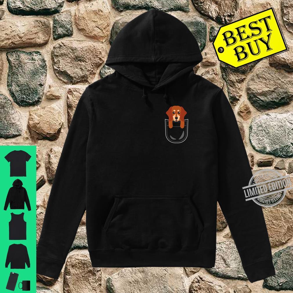 Dackel Tasche Dachshund Teckel Pocket Animals Shirt hoodie