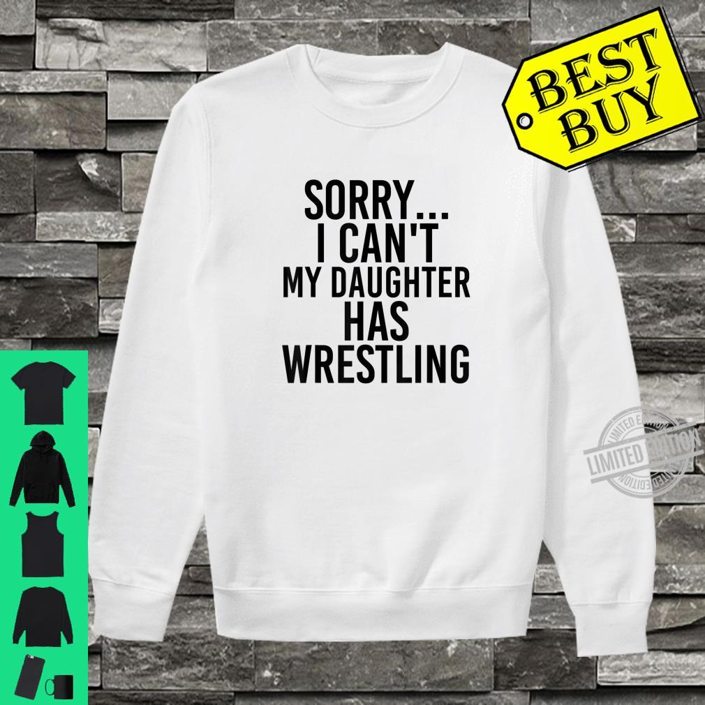 Dad Mom My Daughter Has Wrestling Shirt sweater