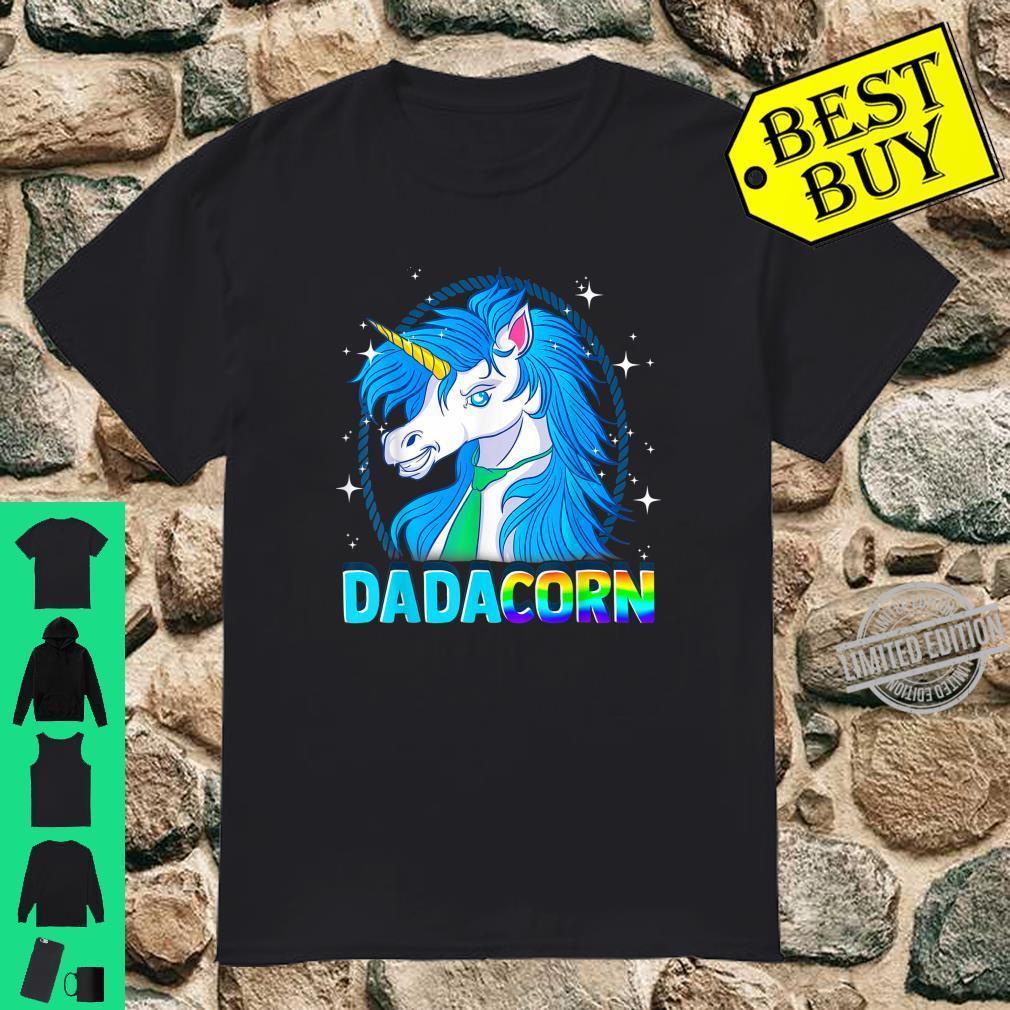 Dadacorn Unicorn Dad for Father's Day Shirt