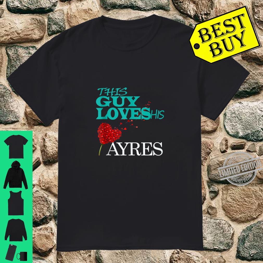 David Ayres shirt. Shirt