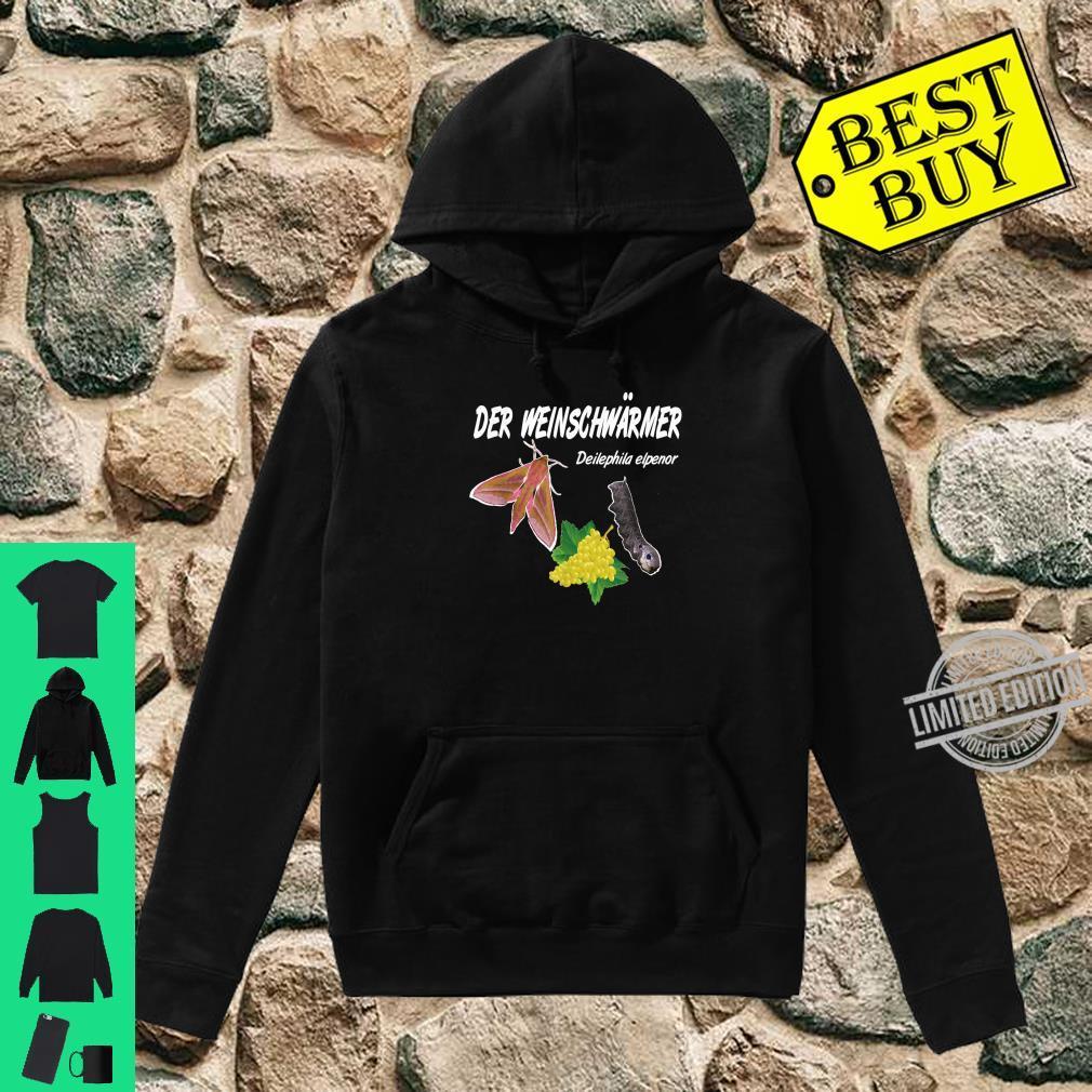 Der Weinschwärmer, Winzer Insekten Weinkenner Geschenk Shirt hoodie