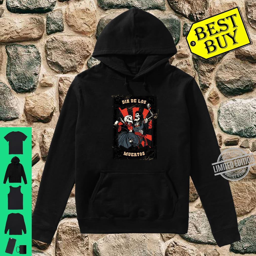 Dia de los Muertos Tag der Toten Langarmshirt Shirt hoodie