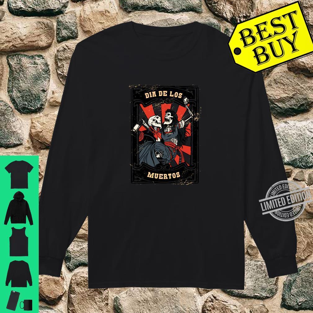 Dia de los Muertos Tag der Toten Langarmshirt Shirt long sleeved