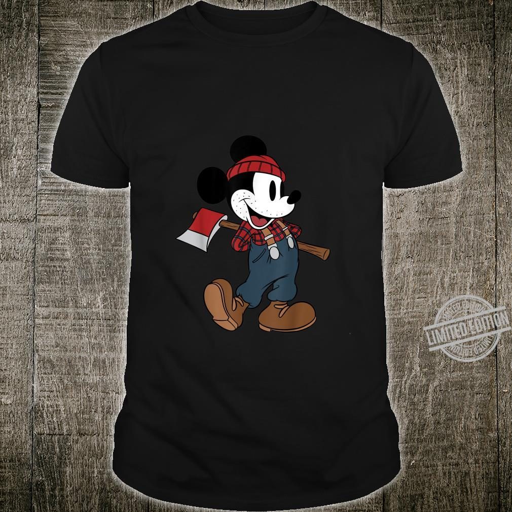 Disney Mickey Mouse Lumberjack Outfit Shirt