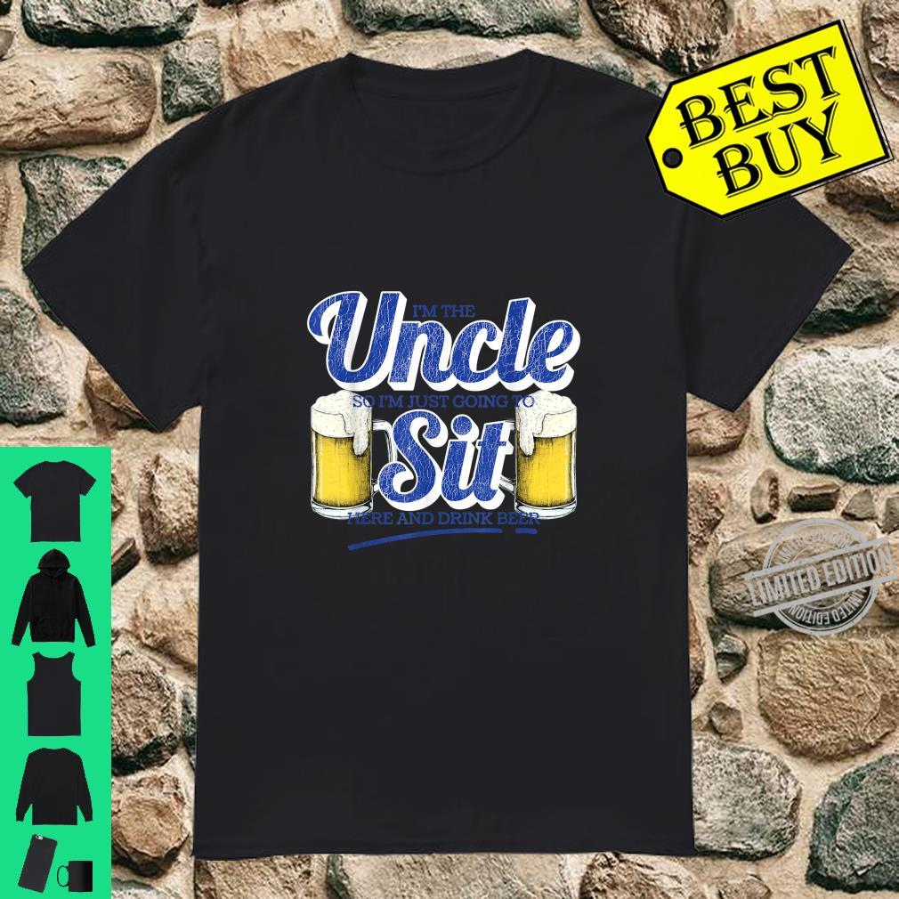 Drinking Party I'm The Uncle Craft Beer Design Shirt