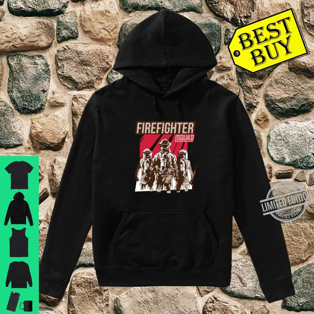 FIREFIGHTER SQUAD Shirt hoodie