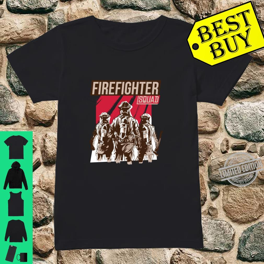 FIREFIGHTER SQUAD Shirt ladies tee