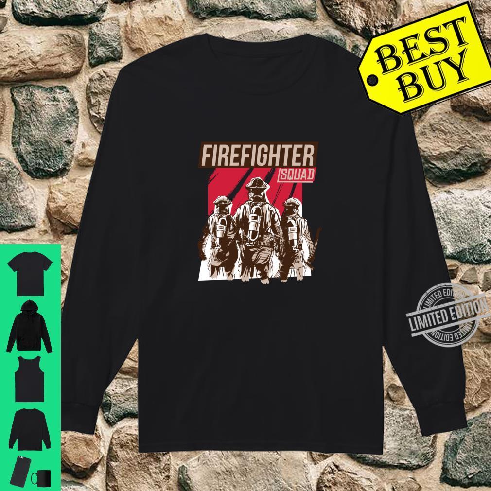 FIREFIGHTER SQUAD Shirt long sleeved