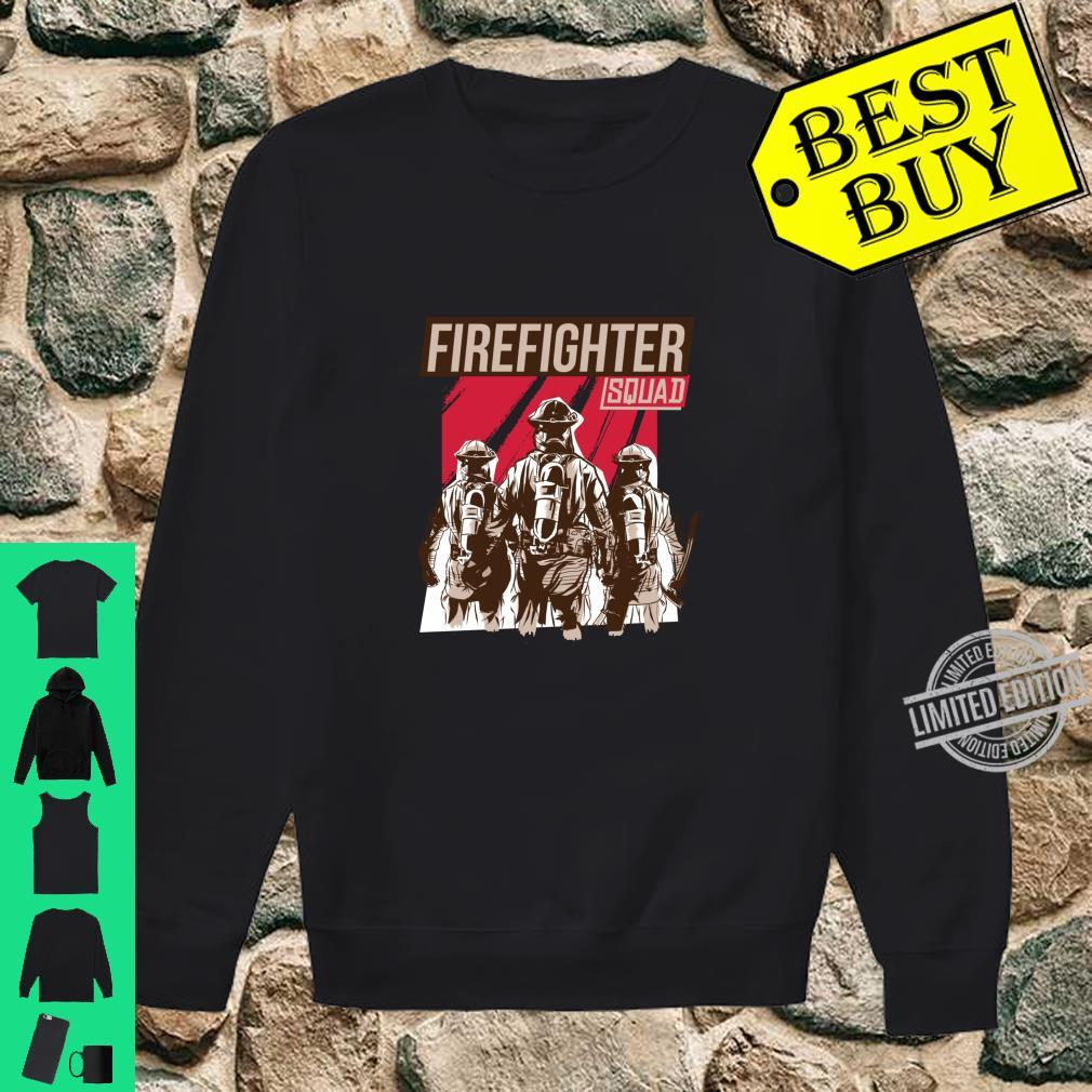 FIREFIGHTER SQUAD Shirt sweater
