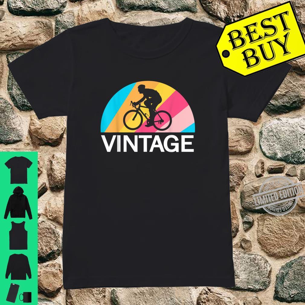 Fahrradfahren Radsport Retro Vintage Fahrrad Fahren Fahrer Shirt ladies tee