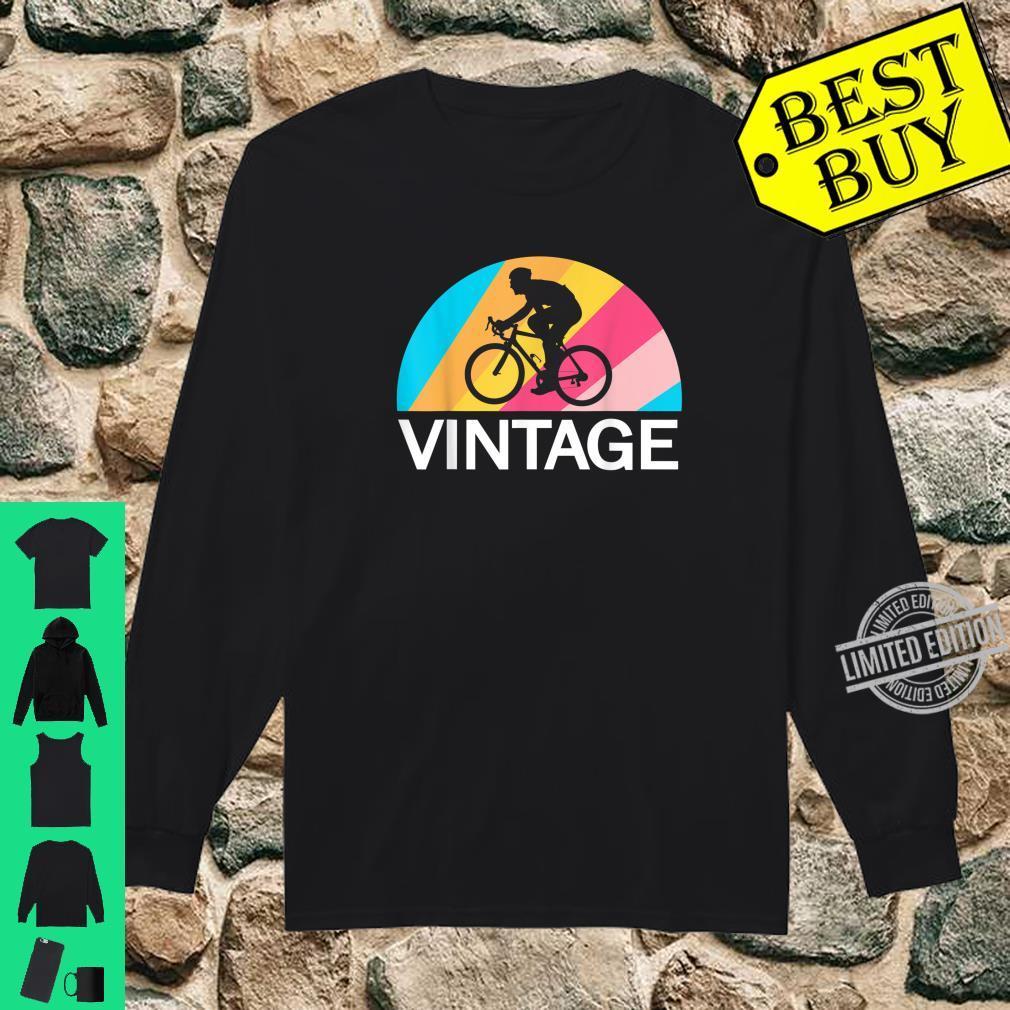 Fahrradfahren Radsport Retro Vintage Fahrrad Fahren Fahrer Shirt long sleeved
