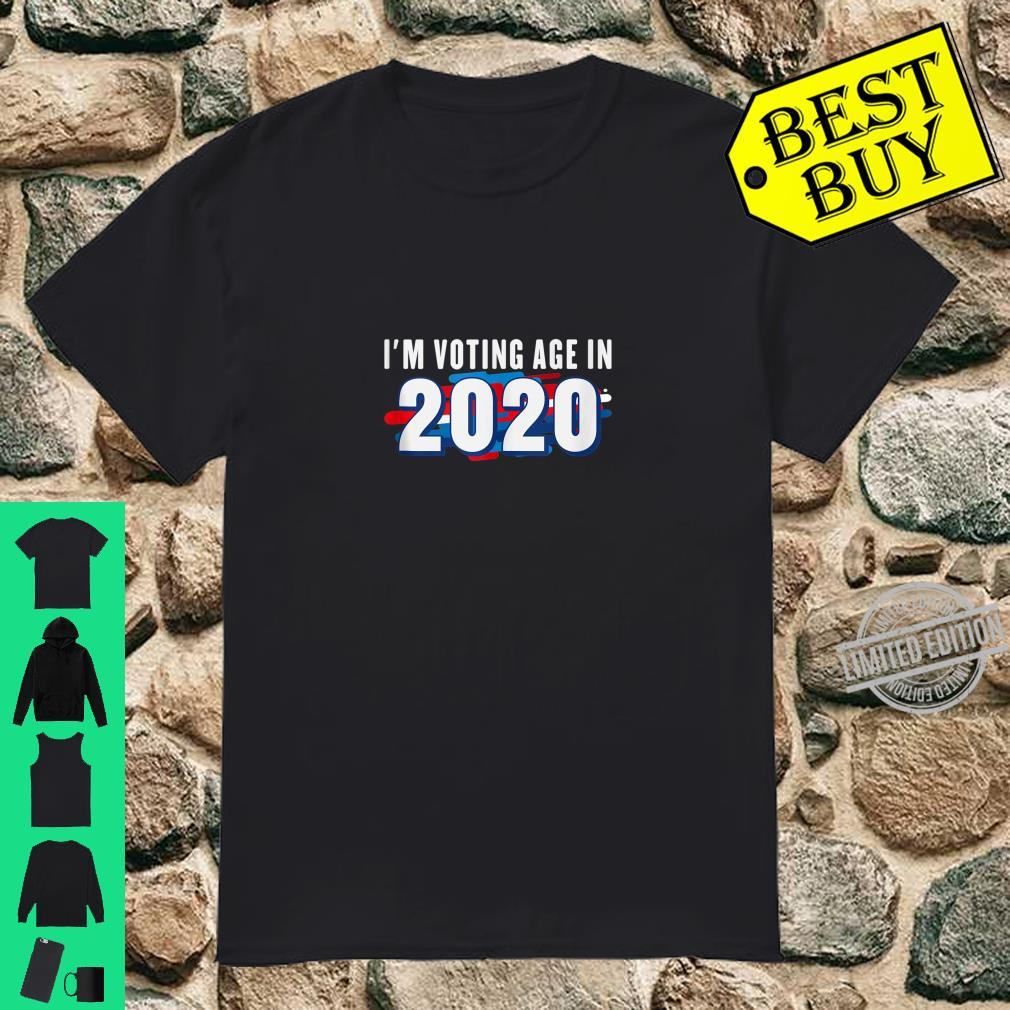 First Time Voter 18th Birthday 2020 Election I'm Voting Age Shirt