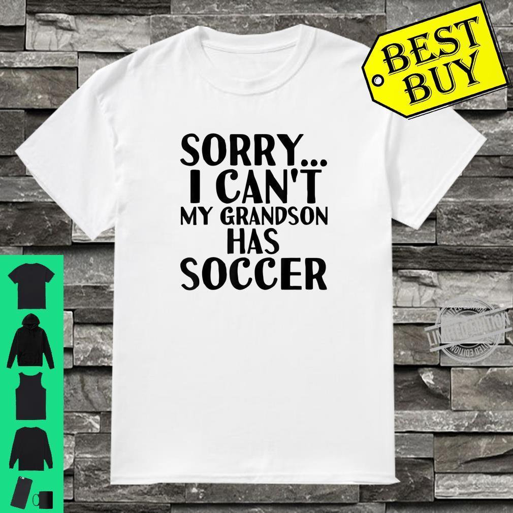 Grandpa Grandma My Grandson Has Soccer Shirt