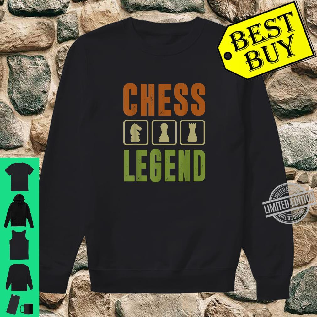 Graphic 365 Chess Legend Player Set Game Humor Shirt sweater