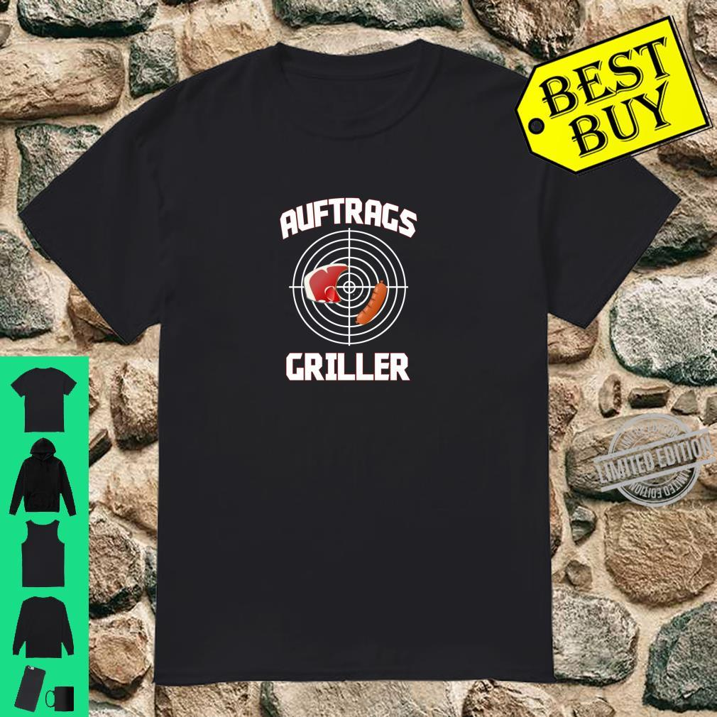 Grillmeister Auftragsgriller BBQ Lustiges Outfit Geschenk Shirt