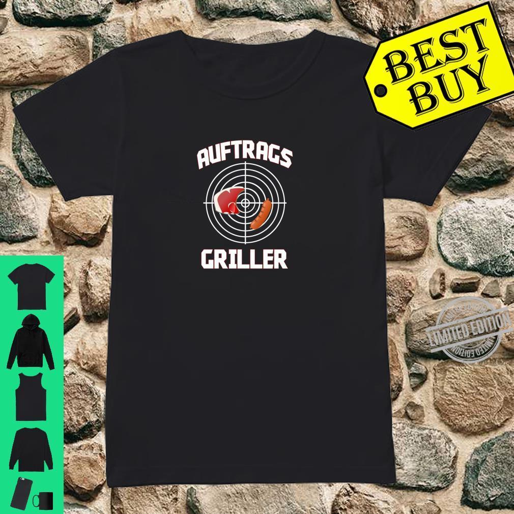 Grillmeister Auftragsgriller BBQ Lustiges Outfit Geschenk Shirt ladies tee