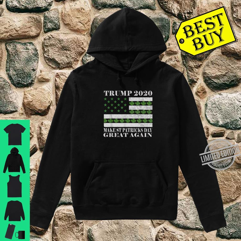 Make St Patricks Day Great Again Pro Trump 2020 Vintage Shirt hoodie
