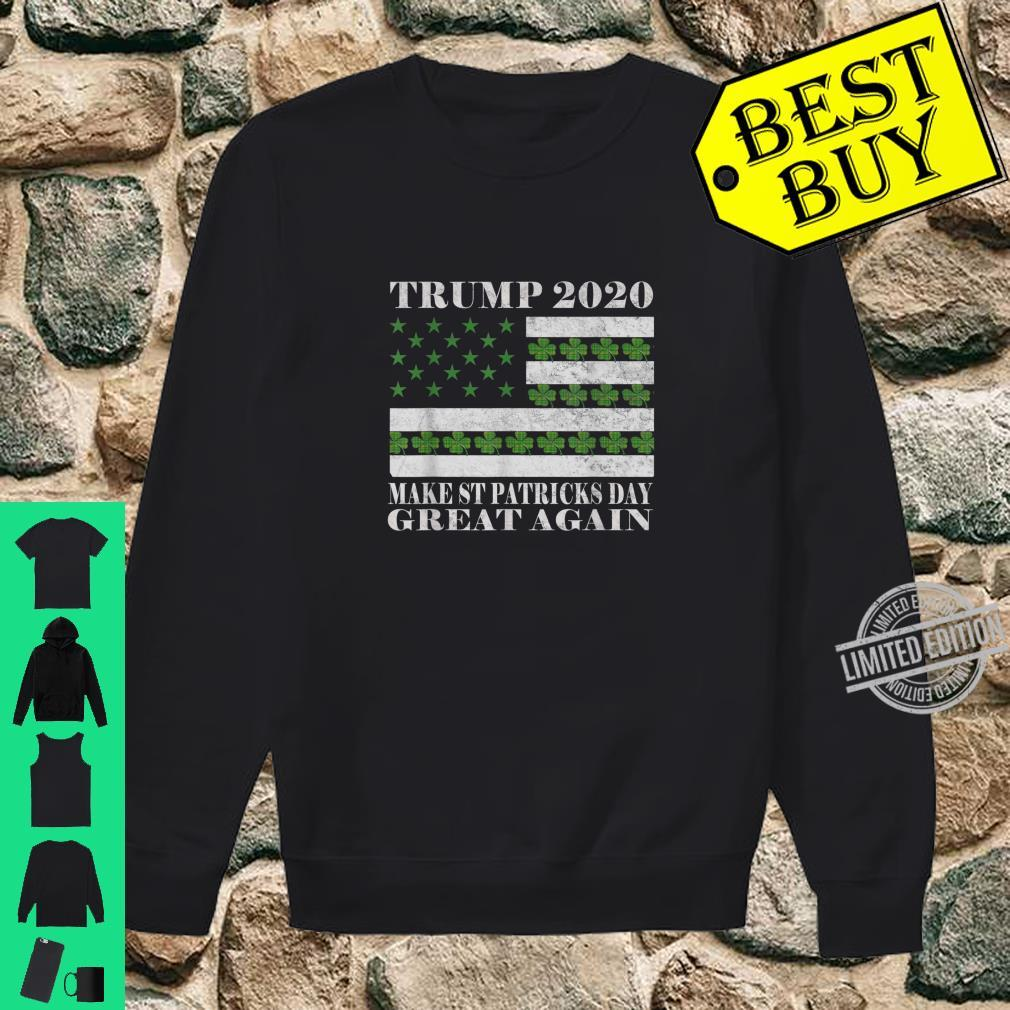Make St Patricks Day Great Again Pro Trump 2020 Vintage Shirt sweater