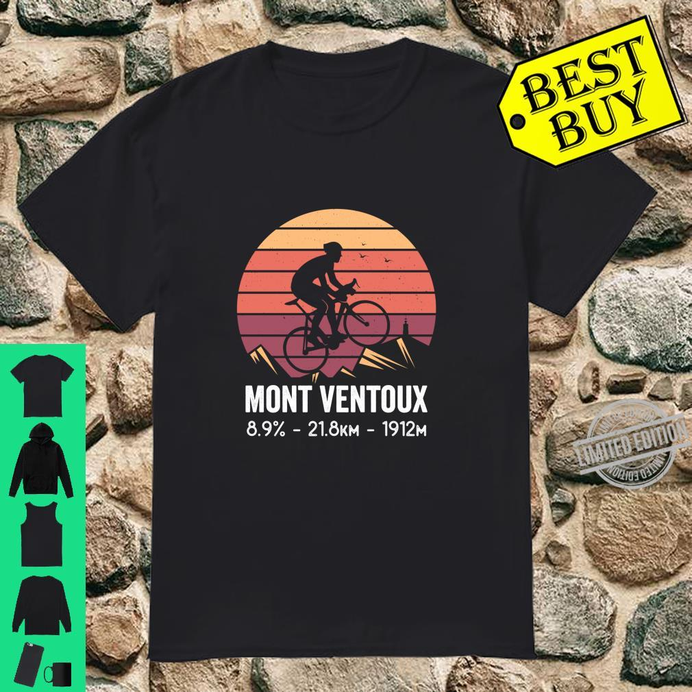 Mont Ventoux Road Cycling Climb France Moutain Cyclist Shirt