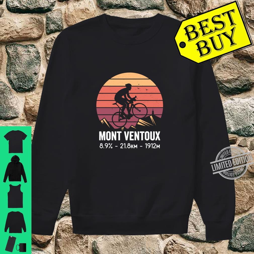 Mont Ventoux Road Cycling Climb France Moutain Cyclist Shirt sweater