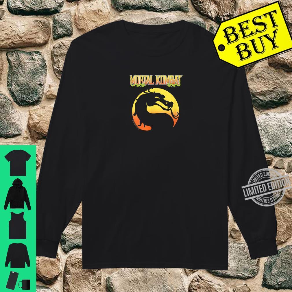 Mortal Kombat Klassic Logo Shirt long sleeved