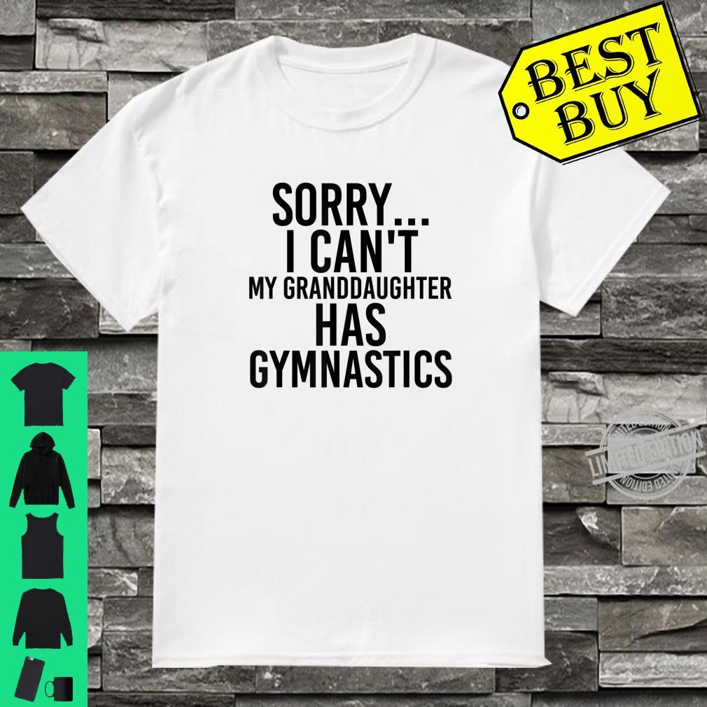 Official Grandpa Grandma My Granddaughter Has Gymnastics Shirt