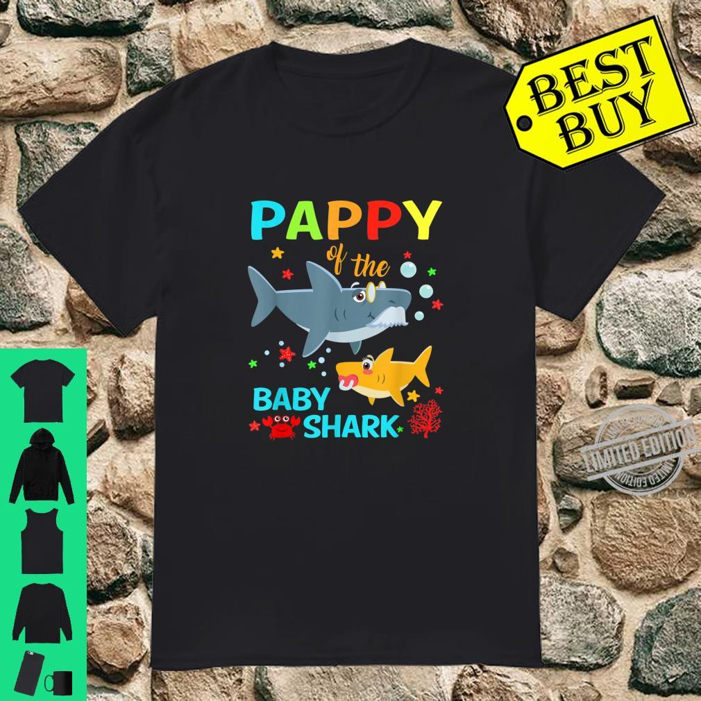 Pappy Of The Baby Shark Birthday Pappy Shark Shirt