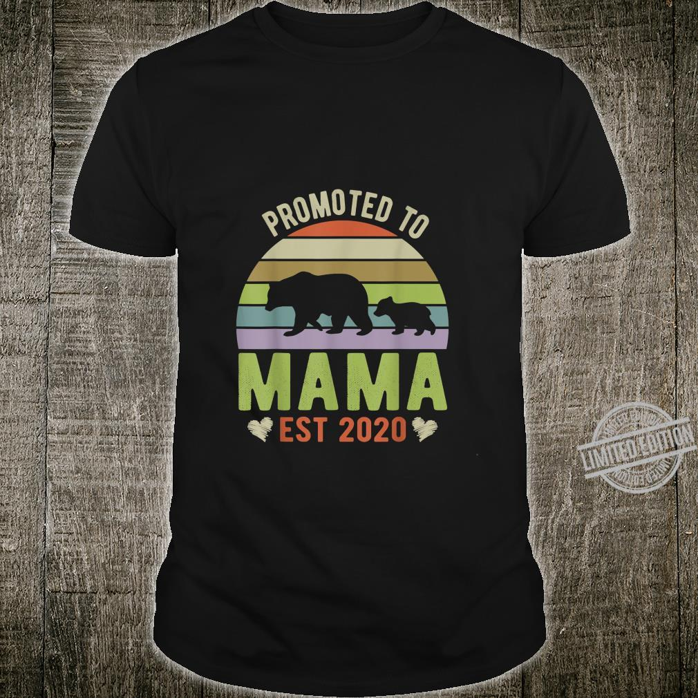Promoted to mama Shirt