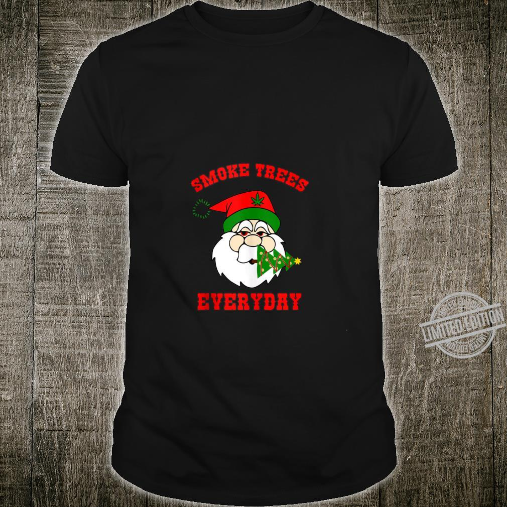 Smoke Trees Everyday Adult Christmas Shirt