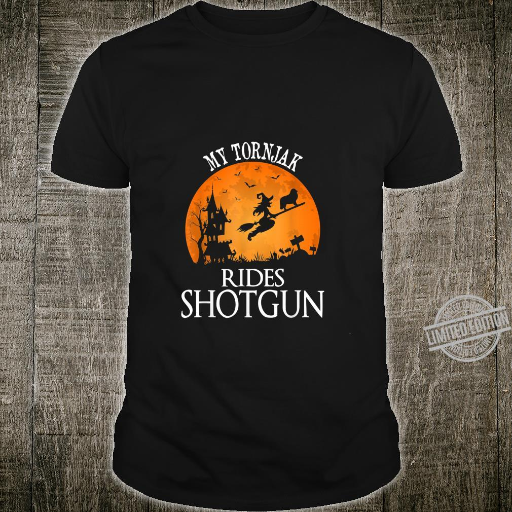 Tornjak Rides Shotgun Dog Halloween Party Shirt