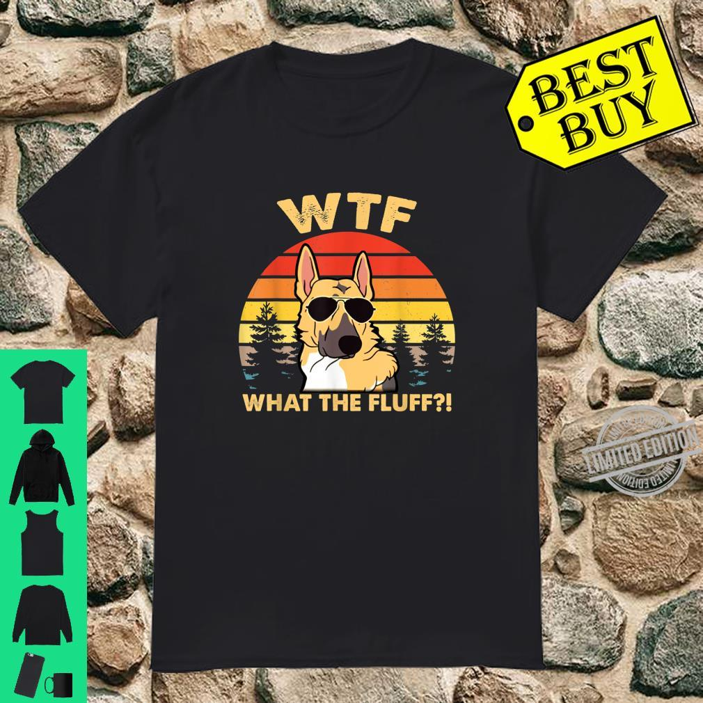 Vintage German Shepherd WhatTheFluffGift Shirt